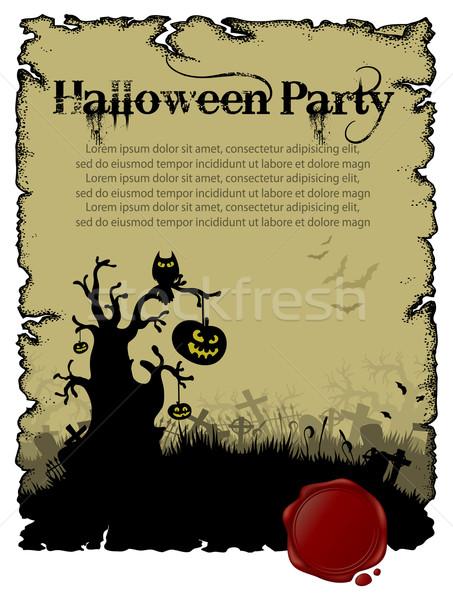Halloween background Stock photo © kjolak