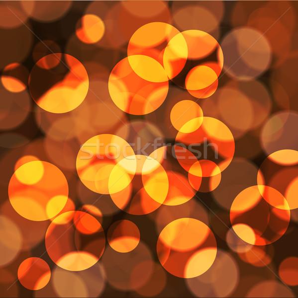 abstract background yellow Stock photo © kjolak