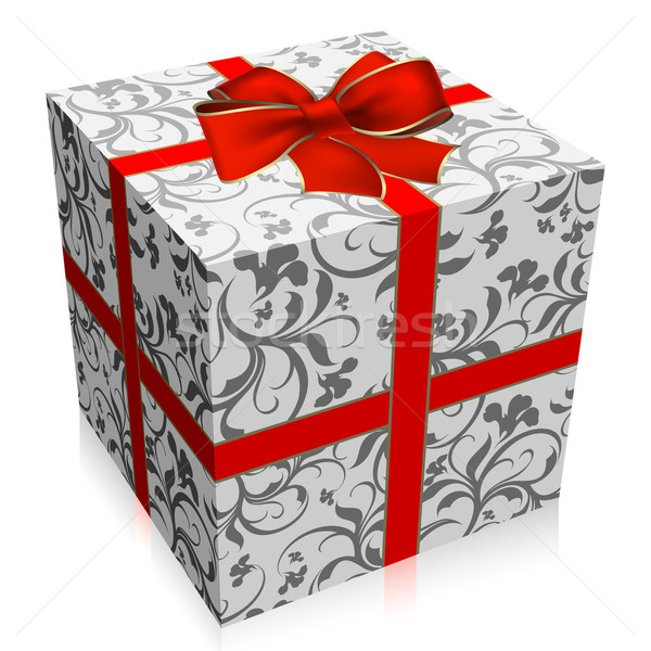 Scatola regalo illustrazione utile designer lavoro sfondo Foto d'archivio © kjolak