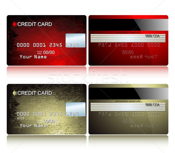 カード クレジットカード クレジットカード 実例 便利 デザイナー ストックフォト © kjolak
