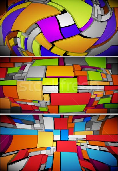 abstract background Stock photo © kjolak