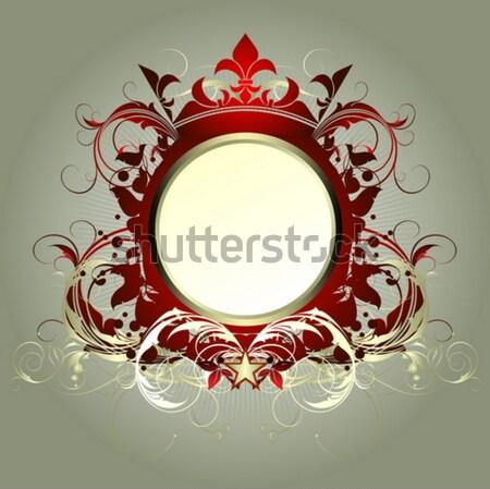 Escudo ilustração útil estilista trabalhar Foto stock © kjolak