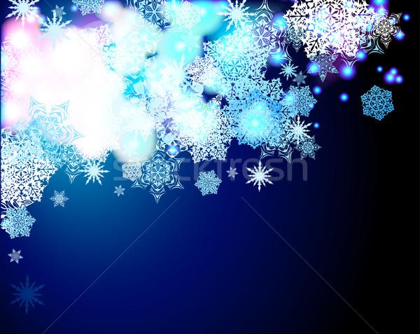 Karácsony illusztráció hasznos designer munka fény Stock fotó © kjolak