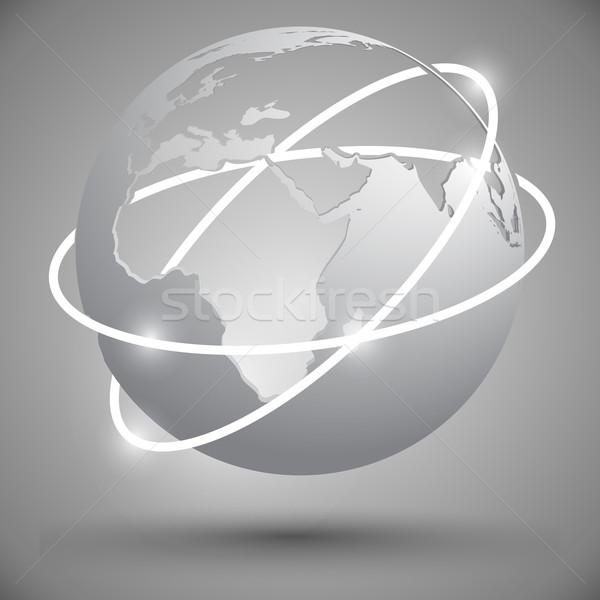 earth globe Stock photo © kjolak