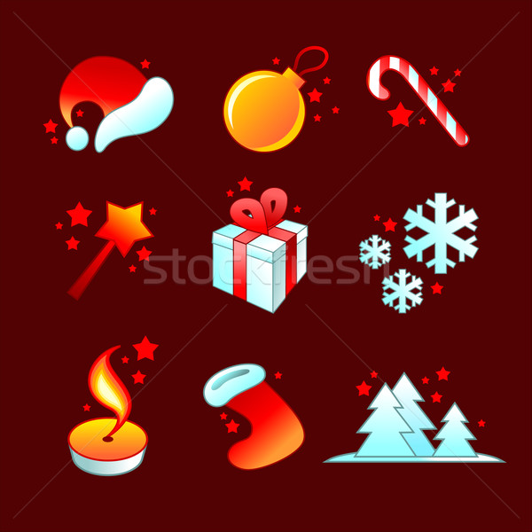 Noël symbole illustration utile designer Photo stock © kjolak