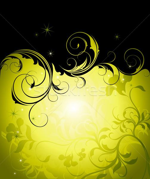 цветочный кадр иллюстрация полезный дизайнера работу Сток-фото © kjolak