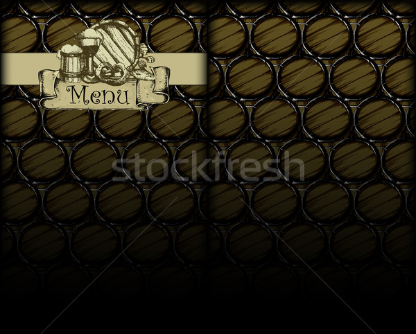 abstract beer background Stock photo © kjolak