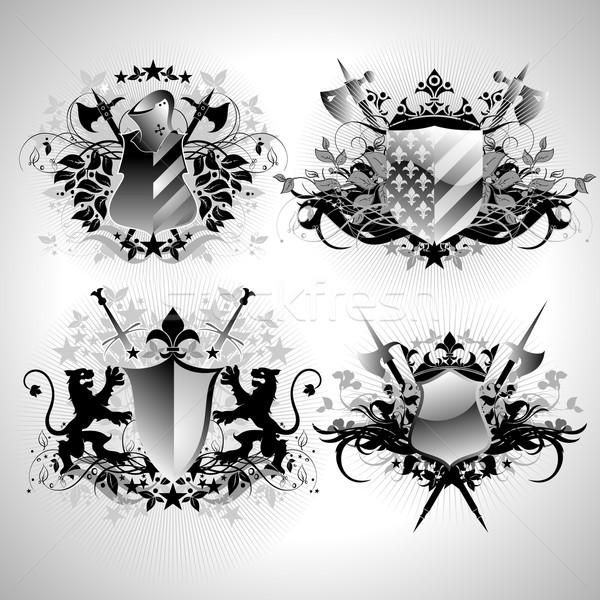 Illustrazione utile designer lavoro frame segno Foto d'archivio © kjolak