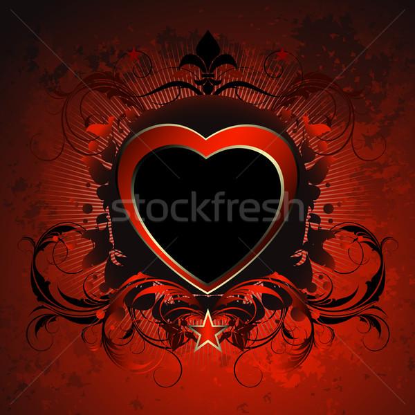 heart decorative Stock photo © kjolak