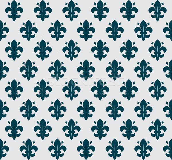 heraldic seamless background Stock photo © kjolak