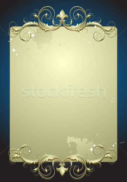Illustrazione utile designer lavoro abstract design Foto d'archivio © kjolak