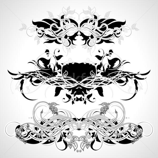 Elementos ilustración útil disenador trabajo Foto stock © kjolak