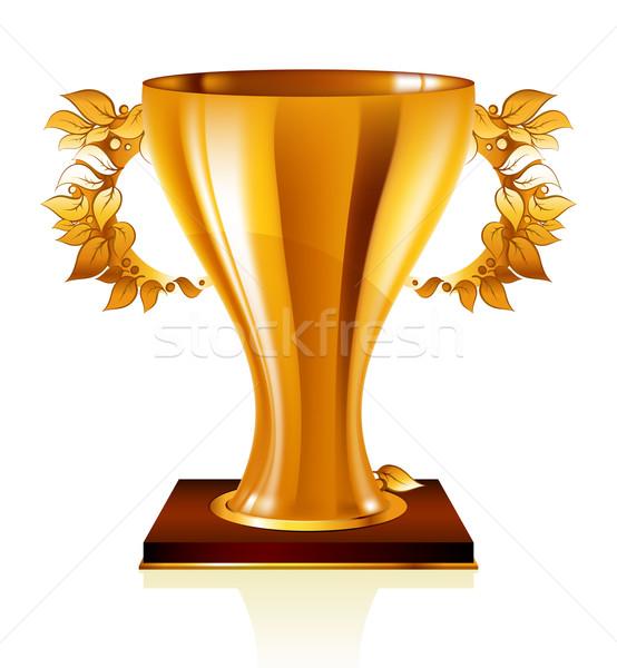 golden goblet Stock photo © kjolak