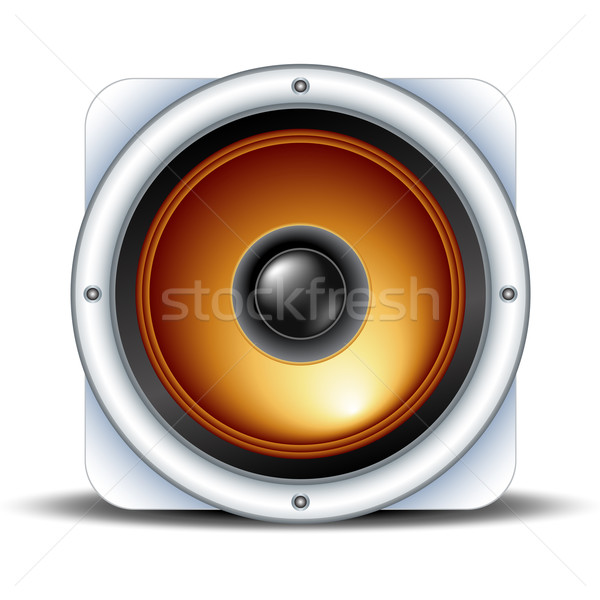 speaker detailed icon Stock photo © kjolak