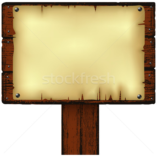 notice board Stock photo © kjolak