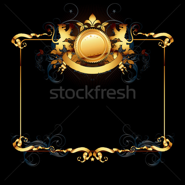 ornate frame Stock photo © kjolak
