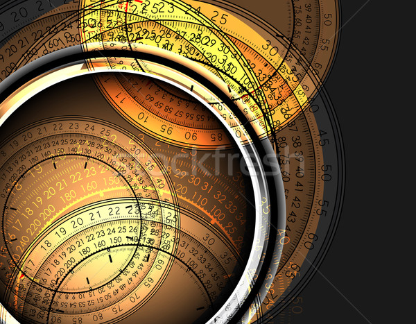 Relógios ilustração útil estilista trabalhar abstrato Foto stock © kjolak