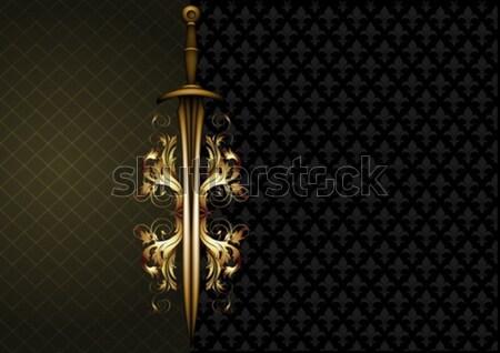 Eski silah örnek yararlı tasarımcı Stok fotoğraf © kjolak