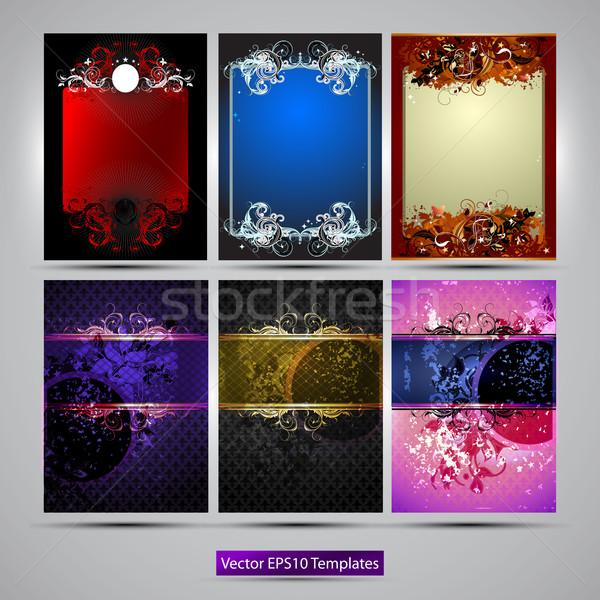 ornate frames Stock photo © kjolak