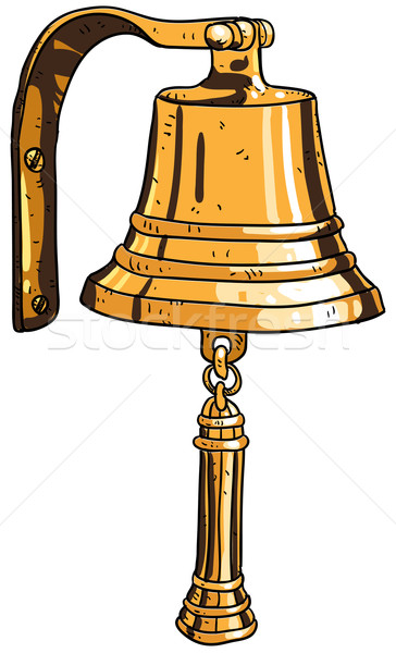 marine theme, ship's bell Stock photo © kjolak
