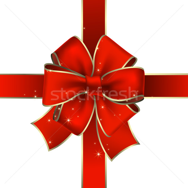 Stock photo: holiday bow