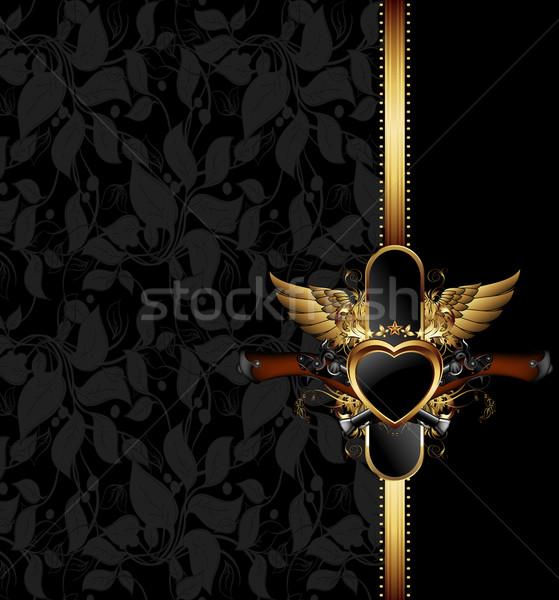 кадр оружия иллюстрация полезный дизайнера Сток-фото © kjolak