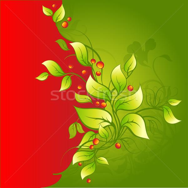 Floreale illustrazione utile designer lavoro fiore Foto d'archivio © kjolak