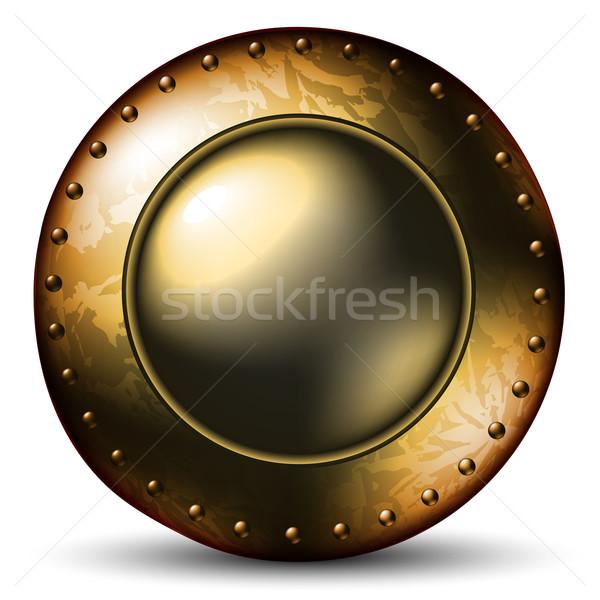 Stockfoto: Schild · celtic · illustratie · nuttig · ontwerper · werk