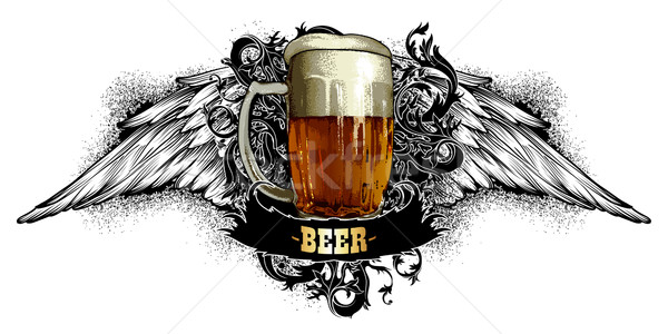 beer background Stock photo © kjolak