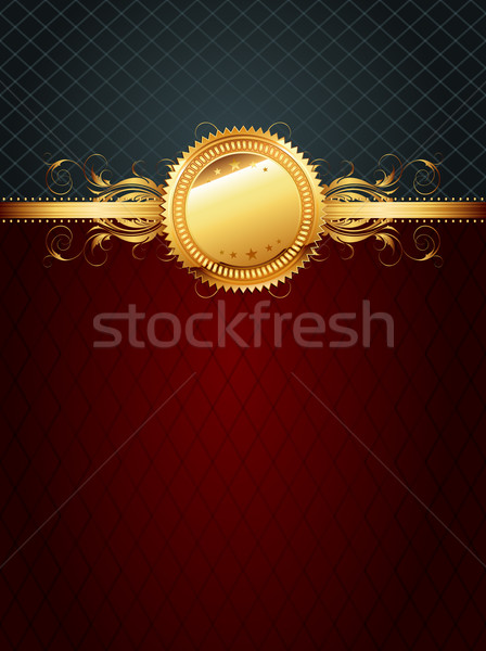 ornate golden frame Stock photo © kjolak