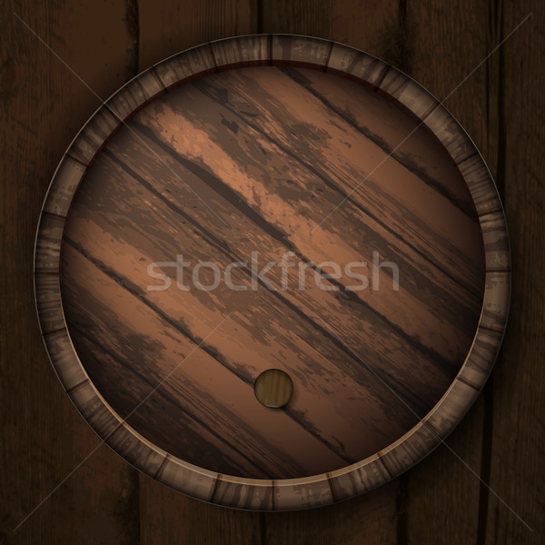 Stock photo: cover casks