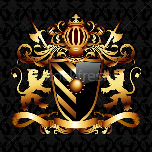 coat of arms Stock photo © kjolak