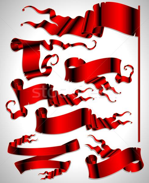 Rouge illustration utile designer Photo stock © kjolak