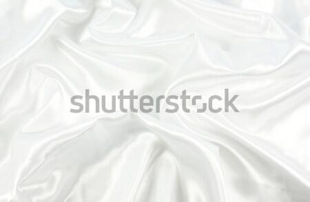 White satin Stock photo © kjpargeter