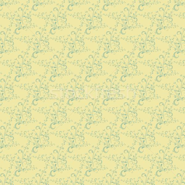 Sin costura azulejo decorativo floral fondo wallpaper Foto stock © kjpargeter
