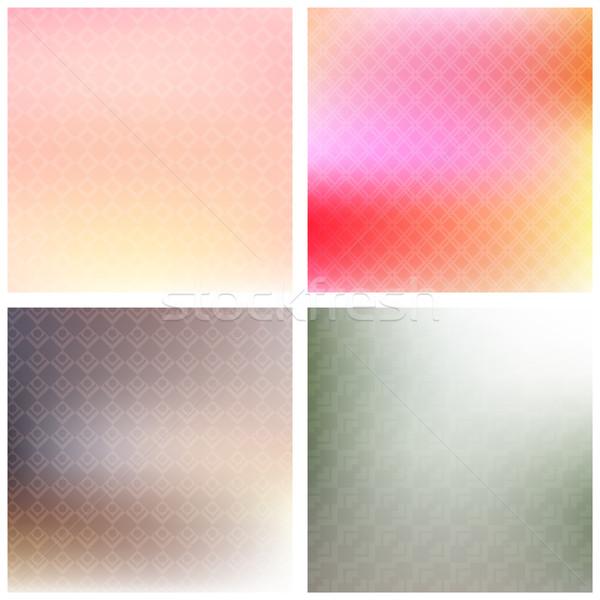 Soft patterned backgrounds Stock photo © kjpargeter