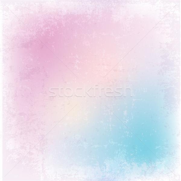 Részletes pasztell grunge színek Stock fotó © kjpargeter