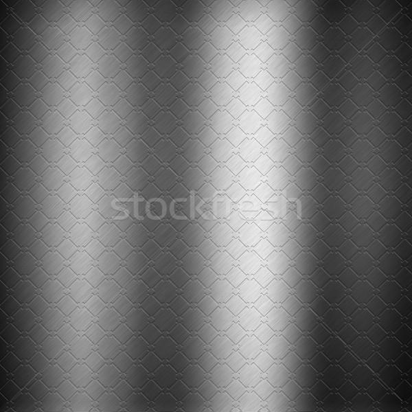 Embossed metal background Stock photo © kjpargeter
