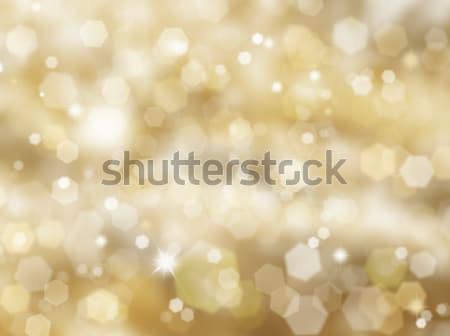 Gold Christmas background Stock photo © kjpargeter