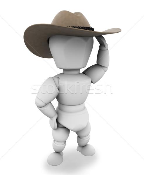 Cowboy Stock photo © kjpargeter