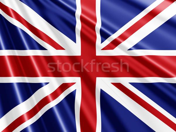 Brit zászló zászló háttér Stock fotó © kjpargeter