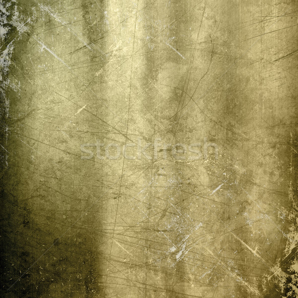 Scratched gold metallic background Stock photo © kjpargeter