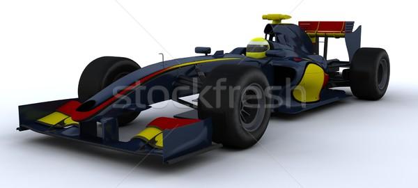 Stock photo: F1 Racing Car