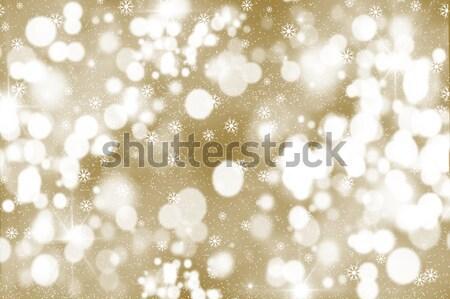 Glittery gold background Stock photo © kjpargeter