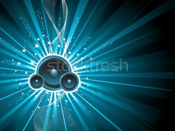 Soundburst Stock photo © kjpargeter
