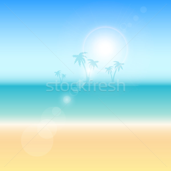 Summer themed background Stock photo © kjpargeter