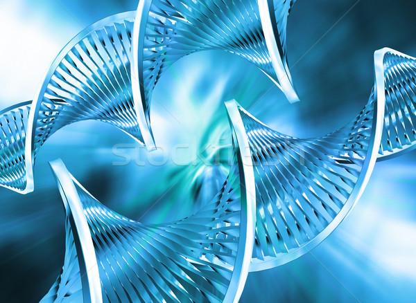 Abstract dna technologie geneeskunde wetenschap leven Stockfoto © kjpargeter