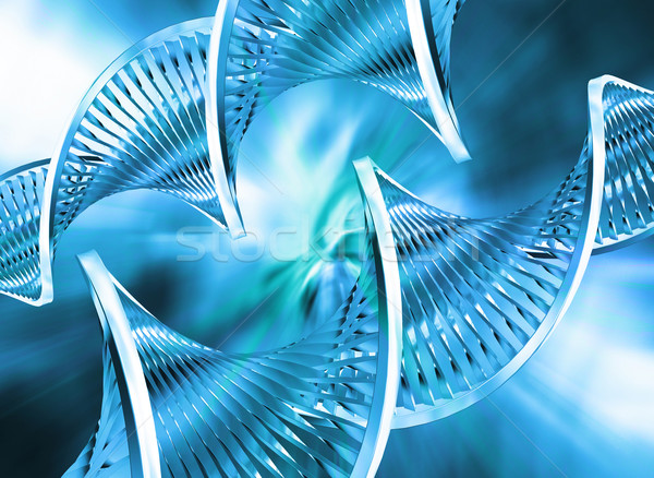 Abstrato dna tecnologia medicina ciência vida Foto stock © kjpargeter
