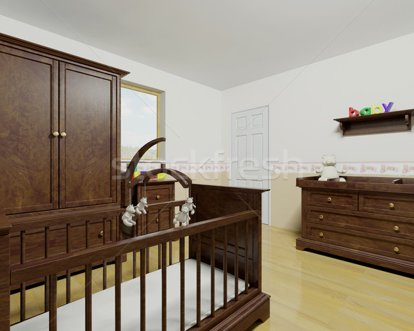 Nursery interior Stock photo © kjpargeter