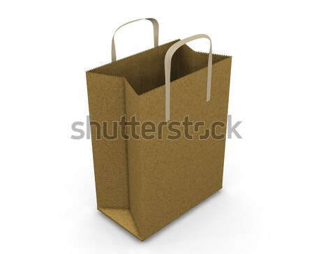 Shopping bag Stock photo © kjpargeter